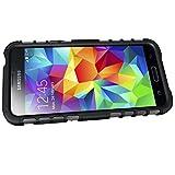 ykooe Galaxy S5 Mini Hülle, (TPU Series) S5 Mini Dual Layer Hybrid Handyhülle Drop Resistance Handys Schutz Hülle mit Ständer für Samsung Galaxy S5 Mini Vergleich