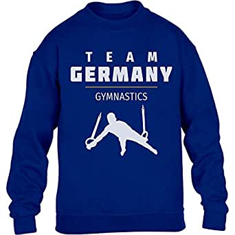 Gymnastics Team Germany – Deutschland Turner Rio Kinder Pullover Sweatshirt
