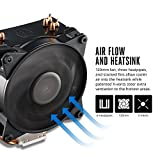 Cooler Master MasterAir Pro 4 Ventola per CPU '4 Heatpipes, 1x Ventola da 120mm PWM, 4-Pin Connector' MAY-T4PN-220PK-R1