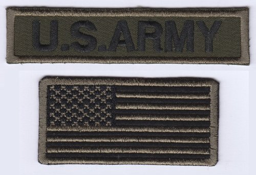 twin-set-us-army-military-strip-usa-flag-iron-on-sew-on-embroidered-badge-applique-motif-patch-from-