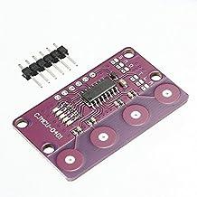 3Pcs Cjmcu-0401 Pulsante 4-Bit Ladicha Sensore Di Prossimità Tattile Capacitivo Con Funzione Autobloccante Per Arduino