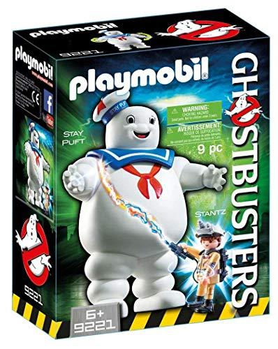 Cazafantasmas- Stay Puft Marshmallow Man Figura con Accesorios, Multicolor (Playmobil 9221)