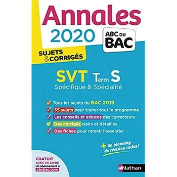 Annales ABC du BAC 2020 SVT Term S