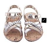 xhorizon TM FM8 Kleinkind Baby Mädchen Kind Blumen Leder Sandale Schuhe