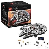 LEGO Star Wars 75192 UCS Millennium Falcon Benvenuti nel più grande più dettagliata del modello, LEGO Star Wars Millennium Falcon che abbiamo mai fatto. Questo modello è composto da 7.500 pezzi ed è anche uno dei nostri più grandi set LEGO ma...