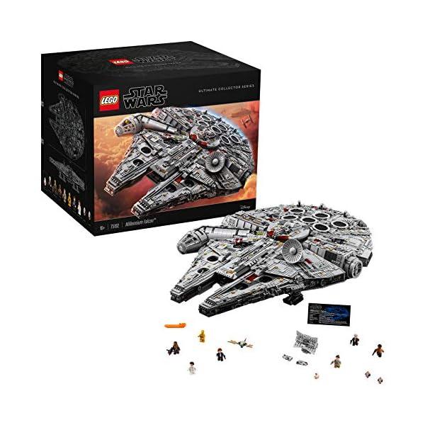 LEGO Millennium Falcon Costruzioni Piccole Gioco Bambina Giocattolo 140, Multicolore, 5702015869935 1 spesavip