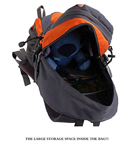 Reise-Outdoor-Enthusiasten Outdoor Wandern Tasche Rucksack Wanderrucksack (30L), grün Pink
