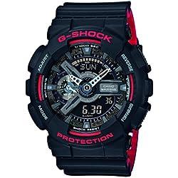 Casio G-Shock Reloj Analógico/Digital de Cuarzo para Hombre con Correa de Resina – GA-110HR-1AER