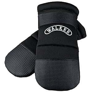 Trixie Walker Care Protective Boots, Medium, Black(Border Collie)