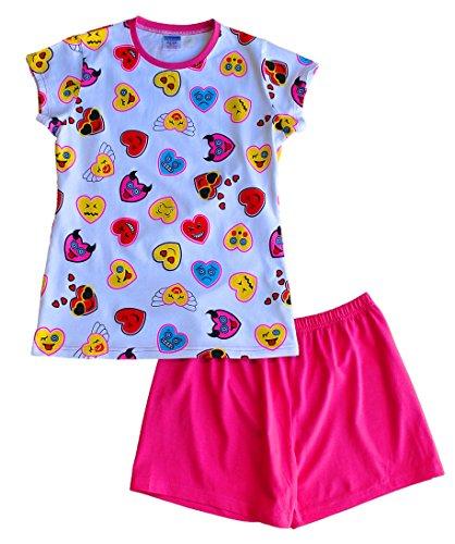ThePyjamaFactory - Pijama - para niña rosa rosa 13-14 Años
