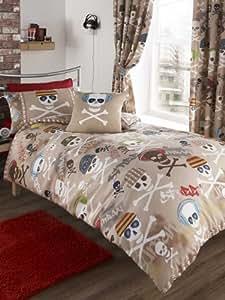 parure linge de lit housse de couette 1 taie d oreiller. Black Bedroom Furniture Sets. Home Design Ideas