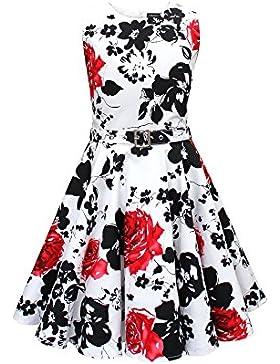 Black Butterfly Kinder 'Audrey' Vintage Serenity Kleid im 50er-Jahre-Stil