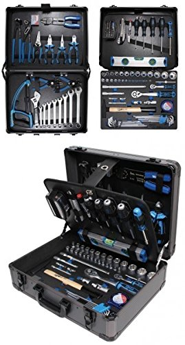 Preisvergleich Produktbild BGS Profi-Werkzeugsatz im Alu-Koffer, 149-teilig, 1 Stück, 15501