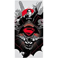 Batman vs Superman 2200001671 - Toalla de playa, multicolor