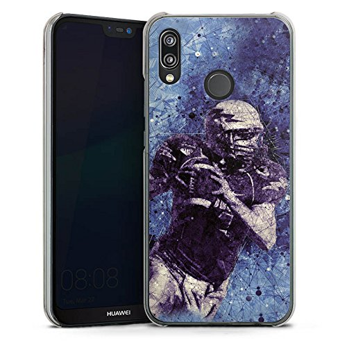 DeinDesign Hülle kompatibel mit Huawei P20 Lite Handyhülle Case American Football Sport Amerika