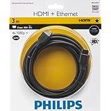Philips SWV2433W Câble HDMI 3 m