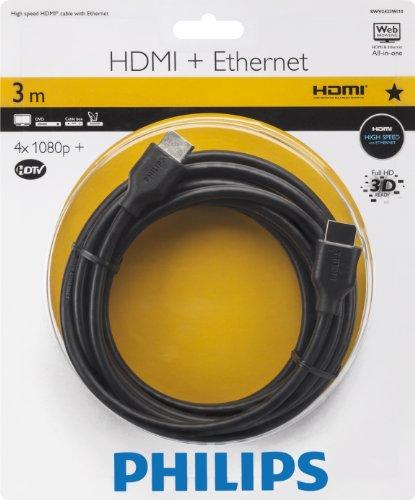 0 HDMI Audio-/Video-Kabel 3,0 m schwarz ()