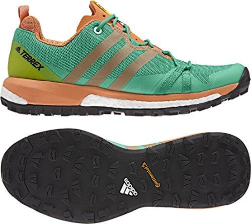 adidas Terrex Agravic W, Scarpe da Escursionismo Donna Verde (Versen/Negbas/Narsen)