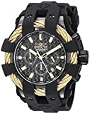 Invicta Mens Analog Quartz Watch with Silicone Strap 23866