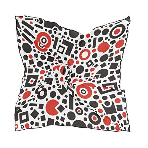 Geschmeidig stilvolle Schal Schals Halstuch Halstuch für Frauen Mädchen Square Texture Life Love -