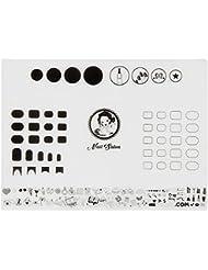 Tapis de Silicone Doux Ongles, Autocollants à Ongles Outils d'Impression, Tapis de Coloration Spéciale