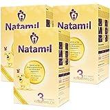 Natamil 3, paquet de lait pour enfants, du 12ème mois, paquet de 3 (3 x 800 g)