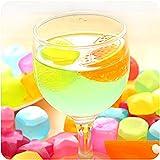 #8: Majik Fruits Shape Chilling Ice Cubes for Whiskey Wine Vodka Liqueurs White Wine Beer Beverage Scotch, Multicolour, 25 Gram, Set of 12, Pack of 1