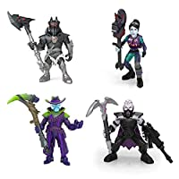 Fortnite 63521 Squad Pack- 4 Battle Royale Collection Figures-Deadfire, Sanctum, Spider Knight, Dark Bomber, Multicoloured