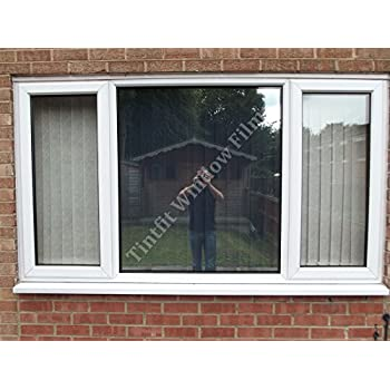 Tintfit window films low e reflective silver 20 insulation solar mirror one way privacy window tinting film sample
