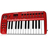 Behringer UMA25S U-Control 25 Key USB MIDI Controller Keyboard with internal Audio Interface