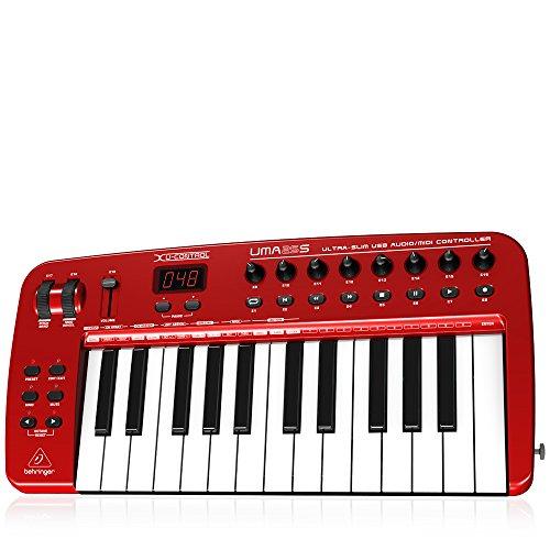 BEHRINGER UMA25S - TECLADO MIDI (USB  460 X 220 X 46 MM  2200 G)