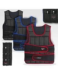 XTR Poids Gilet 5,10,15,20,30 Réglable Pondéré Gilet Perte Fonctionnement Gym Formation