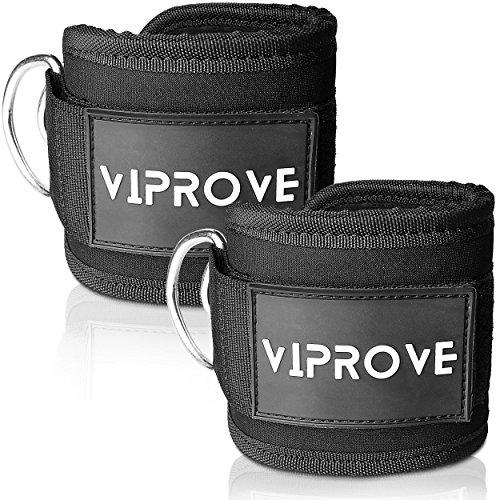Fußschlaufe für Kabelmaschinen von ViProve – Fußmanschetten zur Verbesserung von Beinen und Gesäß Muskulatur