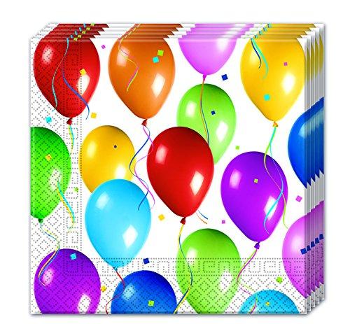 ietten Papier Balloons Fiesta, Mehrfarbig ()