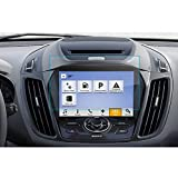 LFOTPP Ford Kuga 8 Zoll Navigation Schutzfolie - 9H Kratzfest Anti-Fingerprint Panzerglas Displayschutzfolie GPS Navi Folie