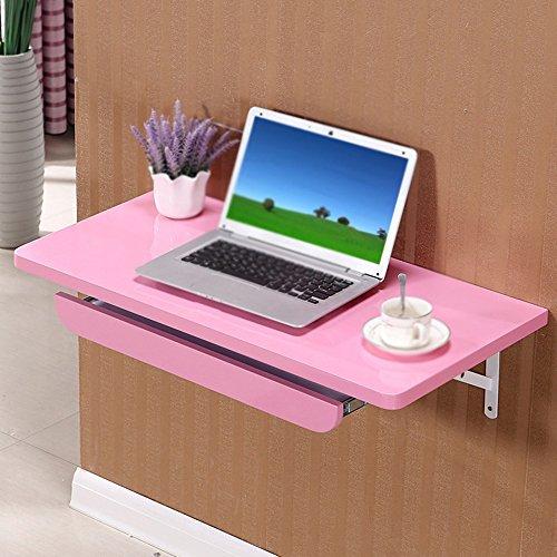 XIAOLIN Hölzerner Wand-Art Laubtisch, faltender Küchentisch, Tabelle der Kinder Tabelle Computer-Schreibtisch-Kinder Tabellen-Wand-Tabelle...