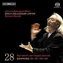 Bach: Cantatas 26, 62, 116, 139 [Hybrid SACD]