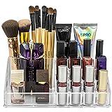 #7: Cartshopper New Makeup Cosmetics Organizer 16 Transparent Container Drawer Storage Box Acrylic Makeup Organizer Nail Polish, Jewellery Accessories Vanity Box