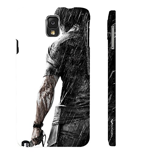 Enthopia Designer Hardshell Case RAMBO Back Cover for Samsung Galaxy Note 3  available at amazon for Rs.95