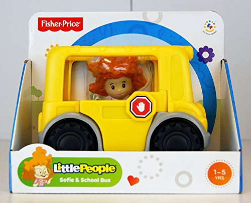 Fisher-Price - Little People - Sofie & School Bus (People-spielzeug-bus Little)