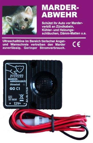 Preisvergleich Produktbild STOP & GO Marderschutz Marderschreck Ultraschallgerät Standard 12 Volt 07535