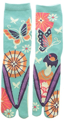 Damen Tabi Socken Zehensocken Maiko Schmetterling Bangasa