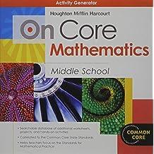 On Core Mathematics: Activity Generator CD-ROM Grades 6-8 by HOLT MCDOUGAL (2011-10-04)