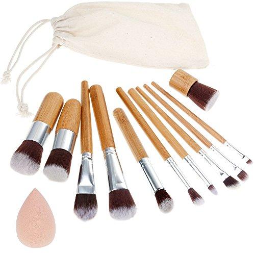 11 piezas pinceles de maquillaje profesional, incluye todos los elementos básicos que necesita para las aplicaciones diarias. Calidad ,superior, cómodo y fácil de usar.Diseño elegante, viene con un estuche roll up práctico y portátilPaquete incluye1....