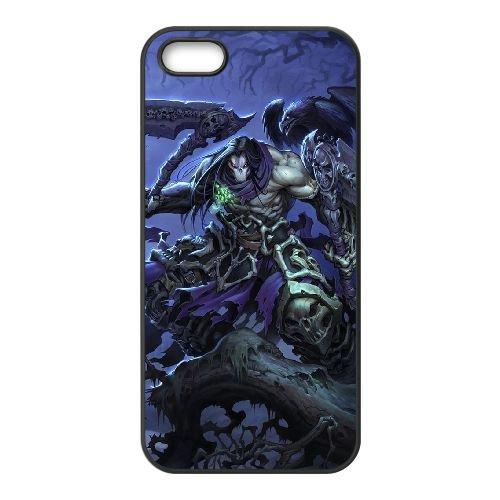 Darksiders coque iPhone 4 4S Housse téléphone Noir de couverture de cas coque EBDXJKNBO14814