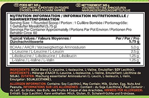 Optimum Nutrition Instantized BCAA 5000 Powder, 1er Pack (1 x 345 g) - 3