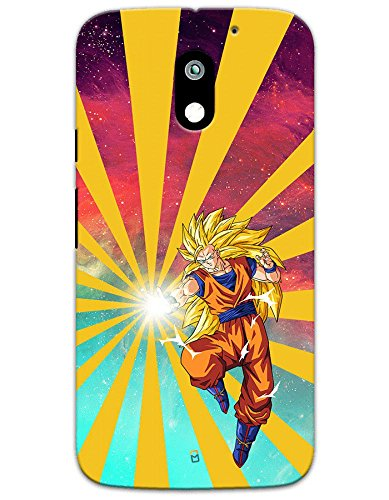 Samsung Galaxy J7 Pro Cases & Covers - Dragon Ball Z Goku Raging Blast Case by myPhoneMate - Designer Printed Hard Matte Case - Protects from Scratch and Bumps & Drops.  available at amazon for Rs.469