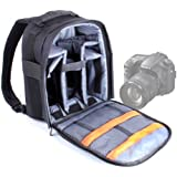 Sac à dos de haute qualité pour appareils photos SLR / reflex Sony a7R II, Alpha SLT-A77VK, SLT-A77VQ, SLT-A58, SLT-A58K.CEC & A3000 - lanières rembourrées