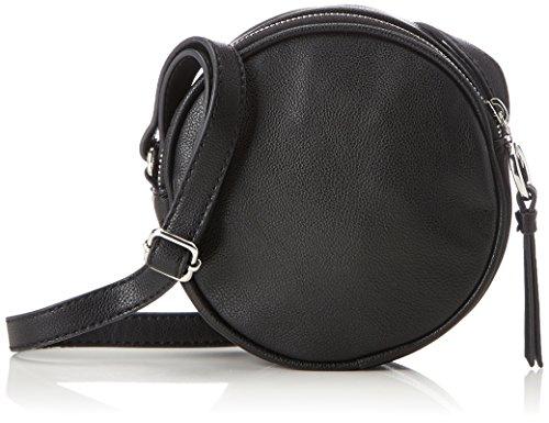 ESPRIT Damen 127ca1o002 Schultertasche, Schwarz (Black), 5x15x15 cm
