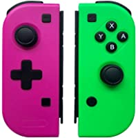 WeJoy Wireless Gioco Controller per Nintendo Switch Console ,Pro Telecomandi Gamepads per Switch Console-Rosa Rossa (L…
